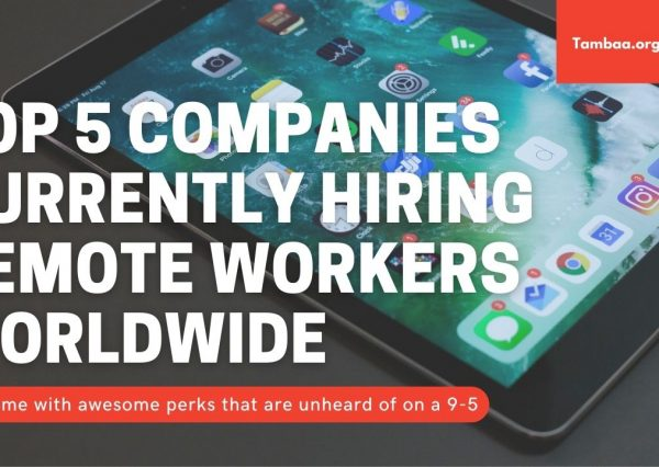 Companies Currently Hiring Remote Workers